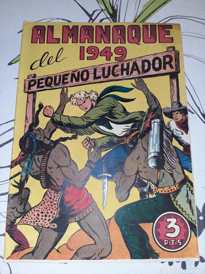 ALMANAQUE DE EL PEQUEÑO LUCHADOR PARA 1949, ORIGINAL MUY NUEVO (Tebeos y Comics - Valenciana - Pequeño Luchador)