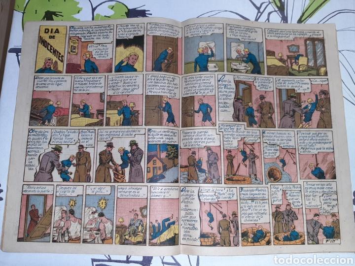 Tebeos: Almanaque de Roberto Alcázar y Pedrín para 1948, original y muy nuevo - Foto 3 - 222378270