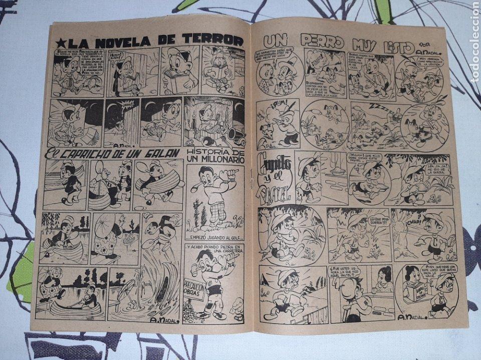 Tebeos: Almanaque de El Pequeño Enmascarado o la Pandilla de los siete para 1947, original y muy nuevo - Foto 3 - 222381848