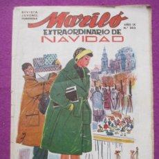 Tebeos: TEBEO MARILO EXTRAORDINARIO DE NAVIDAD 1958 Nº 202 ED. VALENCIANA ORIGINAL. Lote 222418575