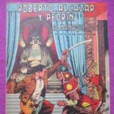 Tebeos: TEBEO ROBERTO ALCAZAR Y PEDRIN ALMANAQUE 1966 ED. VALENCIANA ORIGINAL. Lote 222422888