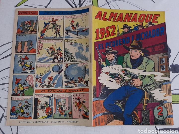 Tebeos: Almanaque de El Pequeño Luchador para 1952, original y nuevo - Foto 2 - 222433948