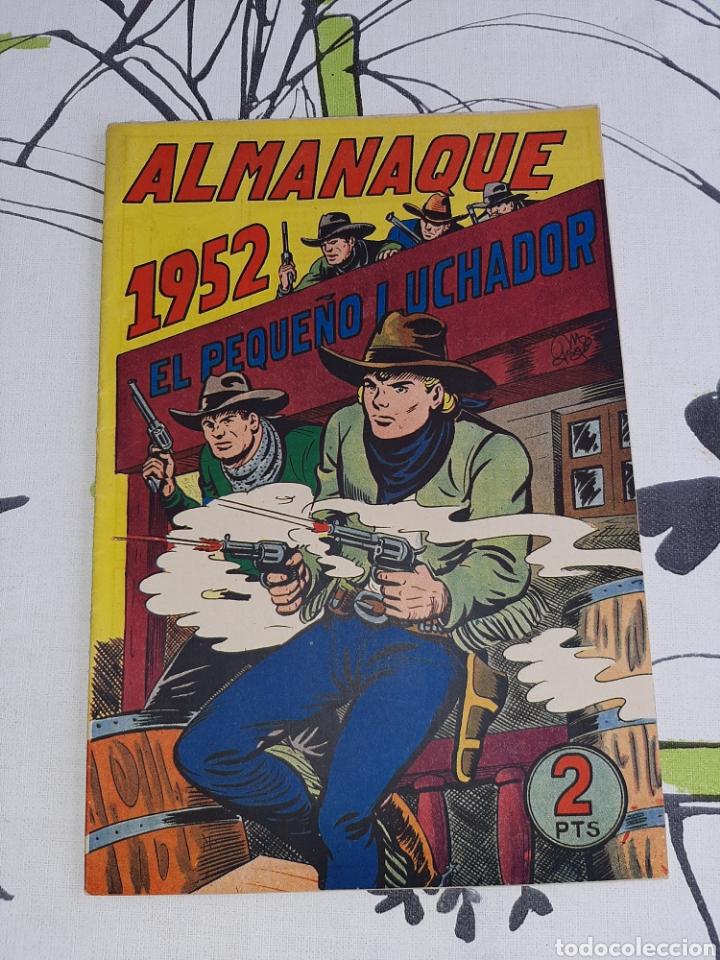 ALMANAQUE DE EL PEQUEÑO LUCHADOR PARA 1952, ORIGINAL Y NUEVO (Tebeos y Comics - Valenciana - Pequeño Luchador)
