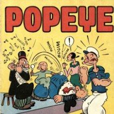 Tebeos: POPEYE Y COCOLISO (VALENCIANA, AÑOS 50) MATERIAL DE 1947 DE TOM SIMS & ZABOLY. Y OTROS CLÁSICOS USA. Lote 222488032