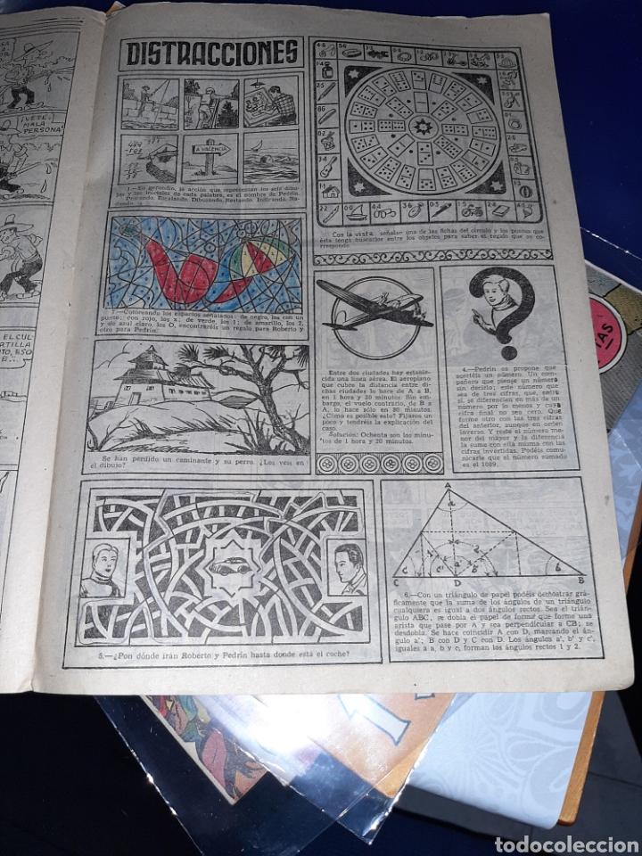 Tebeos: Almanaque de Roberto Alcázar y Pedrín para 1951, original - Foto 4 - 222376133