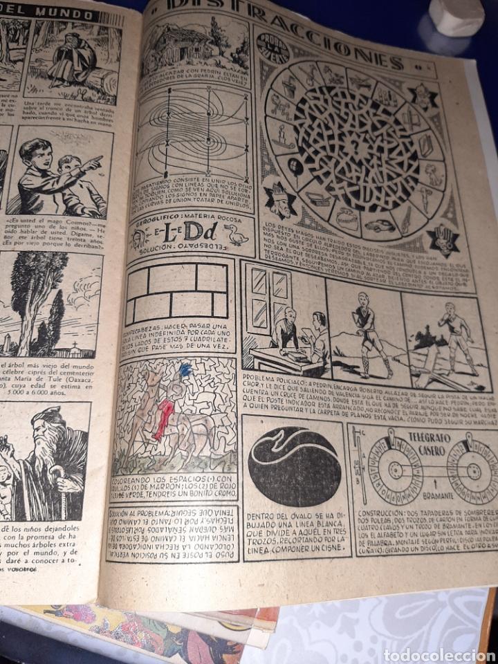 Tebeos: Almanaque de Roberto Alcázar y Pedrín para 1950, original y como nuevo - Foto 4 - 222376671