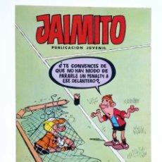 BDs: JAIMITO, PUBLICACIÓN JUVENIL 1655. 25 FEBRERO 1984 (VVAA) VALENCIANA, 1984. OFRT. Lote 226429065