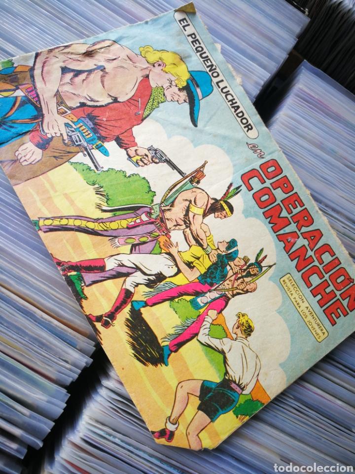 EL PEQUEÑO LUCHADOR- OPERACIÓN COMANCHE, N°24. EDITORIAL VALENCIANA. (Tebeos y Comics - Valenciana - Pequeño Luchador)