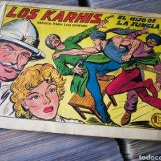 Tebeos: LOS KARHIS- EL HIJO DE LA JUNGLA, N°14. EDITORIAL VALENCIANA.. Lote 222539531