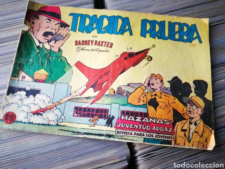BARNEY BAXTER- TRAGICA PRUEBA (HAZAÑAS DE LA JUVENTUD AUDAZ), N°10, ED.VALENCIANA (Tebeos y Comics - Valenciana - Otros)