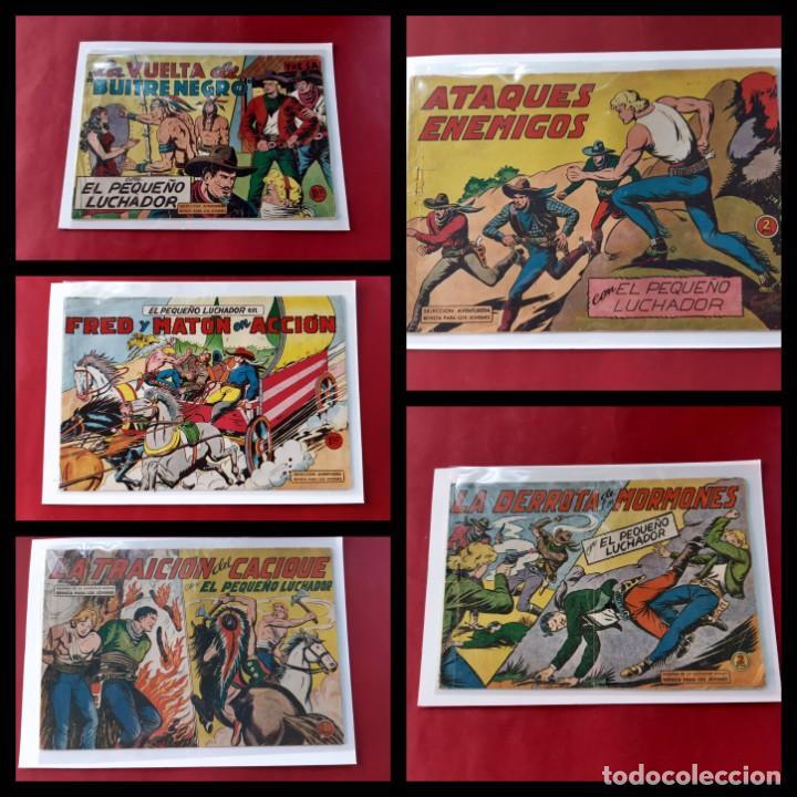 EL PEQUEÑO LUCHADOR - NÚMEROS: 26-68-99-139-157 - EDITORIAL VALENCIANA - ORIGINALES (Tebeos y Comics - Valenciana - Pequeño Luchador)