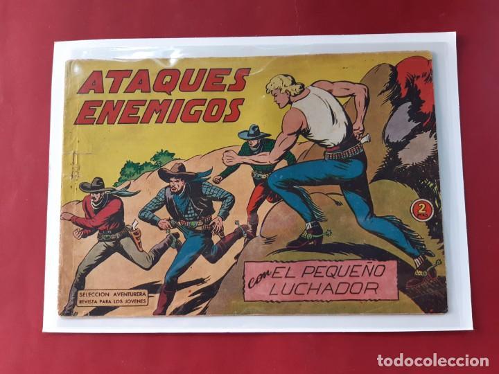 Tebeos: EL PEQUEÑO LUCHADOR - Números: 26-68-99-139-157 - EDITORIAL VALENCIANA - ORIGINALES - Foto 3 - 222559037
