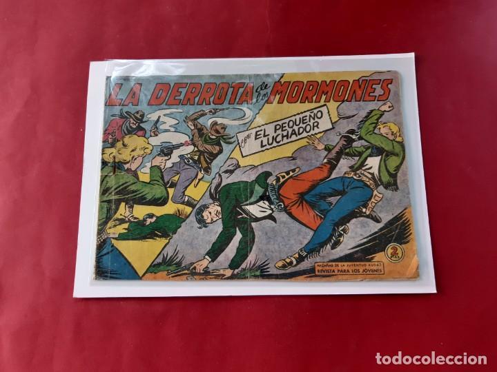Tebeos: EL PEQUEÑO LUCHADOR - Números: 26-68-99-139-157 - EDITORIAL VALENCIANA - ORIGINALES - Foto 4 - 222559037