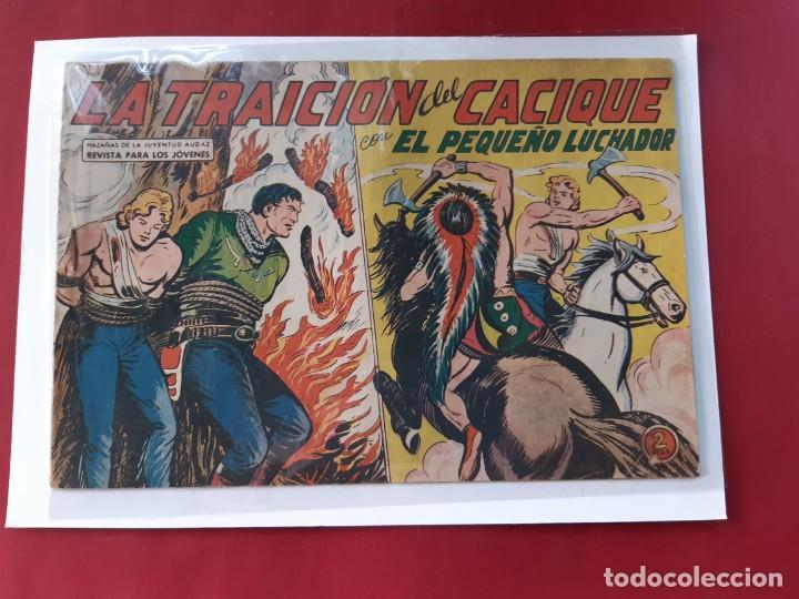 Tebeos: EL PEQUEÑO LUCHADOR - Números: 26-68-99-139-157 - EDITORIAL VALENCIANA - ORIGINALES - Foto 5 - 222559037