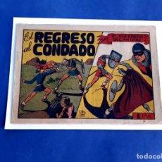 Tebeos: EL GUERRERO DEL ANTIFAZ Nº 55 EL REGRESO AL CONDADO -ORIGINAL- ED. VALENCIANA-1 PTA. Lote 222560073