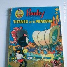 Tebeos: LIBROS ILUSTRADOS PUMBY 55 TITANES DE LA PRADERA. Lote 222587016
