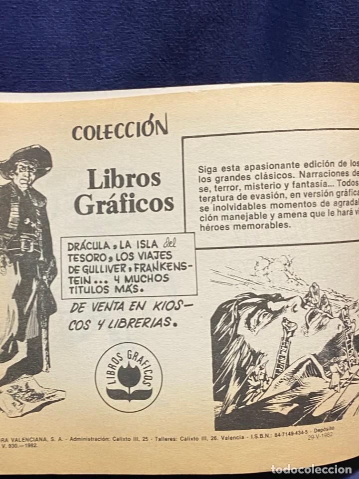Tebeos: DOS HEROES CON EL ESPADACHIN ENMASCARADO N 53 2 ª ED 17,5X25CMS - Foto 4 - 222600880