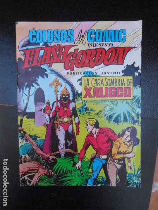 FLASH GORDON Nº 19 EDITORIAL VALENCIANA (Tebeos y Comics - Valenciana - Colosos del Comic)