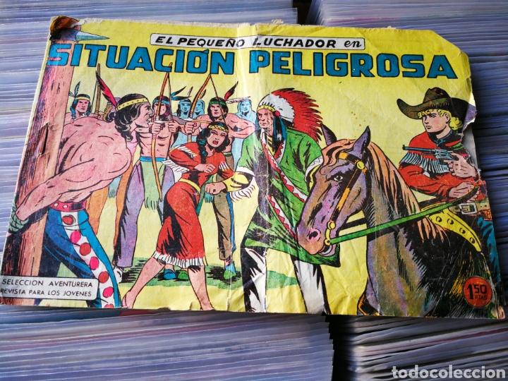 EL PEQUEÑO LUCHADOR- SITUACIÓN PELIGROSA, N°12. EDITORIAL VALENCIANA. (Tebeos y Comics - Valenciana - Pequeño Luchador)