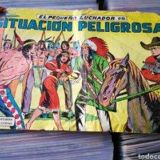 Tebeos: EL PEQUEÑO LUCHADOR- SITUACIÓN PELIGROSA, N°12. EDITORIAL VALENCIANA.. Lote 222624643
