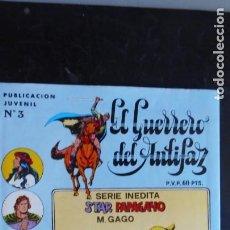 Tebeos: EL GUERRERO DEL ANTIFAZ Nº 3. Lote 222664685