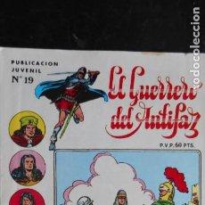 Tebeos: EL GUERRERO DEL ANTIFAZ Nº 19. Lote 222665017