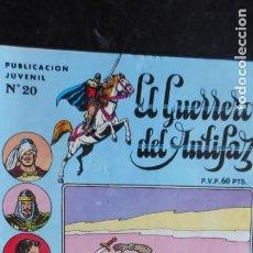 Tebeos: EL GUERRERO DEL ANTIFAZ Nº 20. Lote 222665053