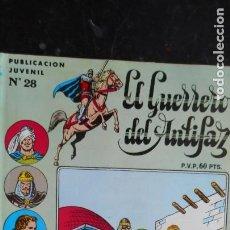 Tebeos: EL GUERRERO DEL ANTIFAZ Nº 28. Lote 222665583