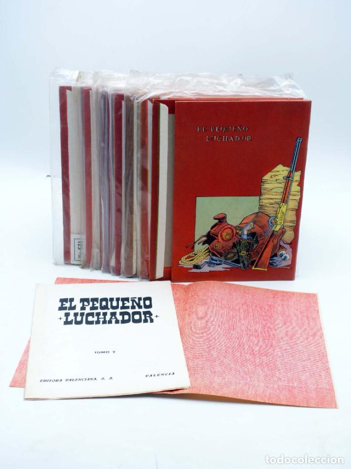 Tebeos: TAPAS PARA ENCUADERNAR EL PEQUEÑO LUCHADOR TOMOS 1 A 9. (8+1) (M. Gago) Valenciana, 1977. OFRT - Foto 2 - 222684787
