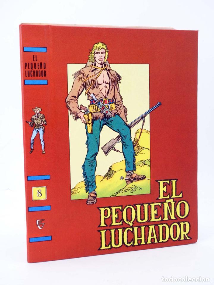 Tebeos: TAPAS PARA ENCUADERNAR EL PEQUEÑO LUCHADOR TOMOS 1 A 9. (8+1) (M. Gago) Valenciana, 1977. OFRT - Foto 3 - 222684787