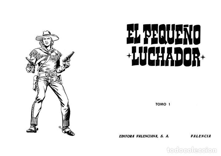 Tebeos: TAPAS PARA ENCUADERNAR EL PEQUEÑO LUCHADOR TOMOS 1 A 9. (8+1) (M. Gago) Valenciana, 1977. OFRT - Foto 8 - 222684787