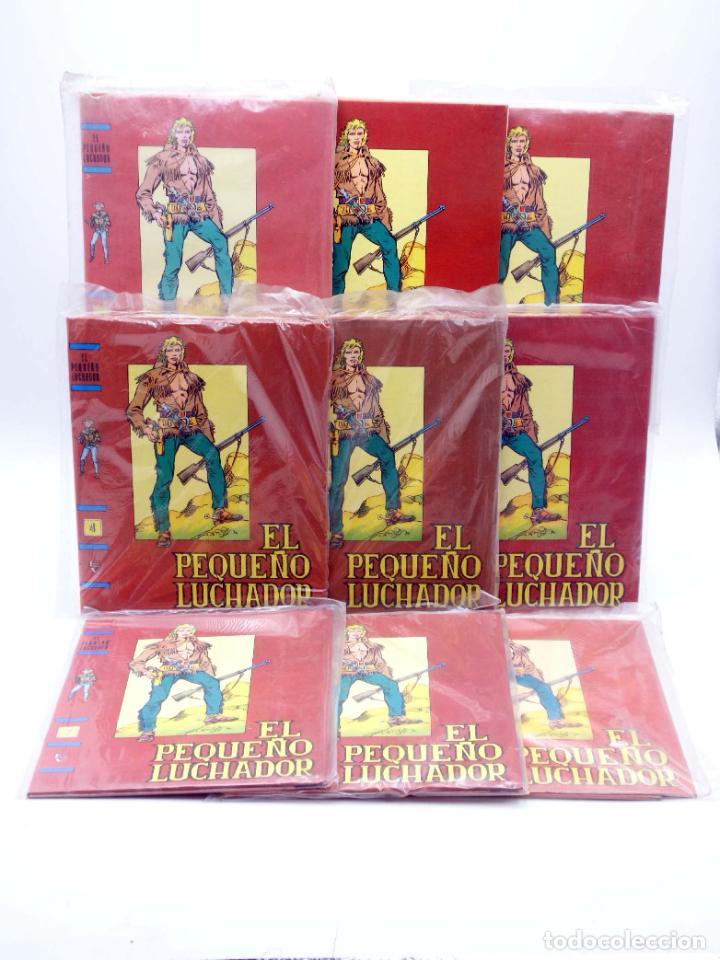TAPAS PARA ENCUADERNAR EL PEQUEÑO LUCHADOR TOMOS 1 A 9. (8+1) (M. GAGO) VALENCIANA, 1977. OFRT (Tebeos y Comics - Valenciana - Pequeño Luchador)