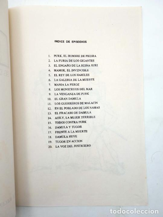 Tebeos: TAPAS PARA ENCUADERNAR PURK EL HOMBRE DE PIEDRA. LOTE 6 TAPAS (4+2) (M. Gago) Valenciana, 1974. OFRT - Foto 7 - 222684806