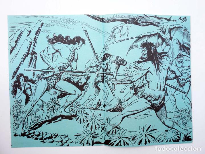 Tebeos: TAPAS PARA ENCUADERNAR PURK EL HOMBRE DE PIEDRA. LOTE 6 TAPAS (4+2) (M. Gago) Valenciana, 1974. OFRT - Foto 8 - 222684806