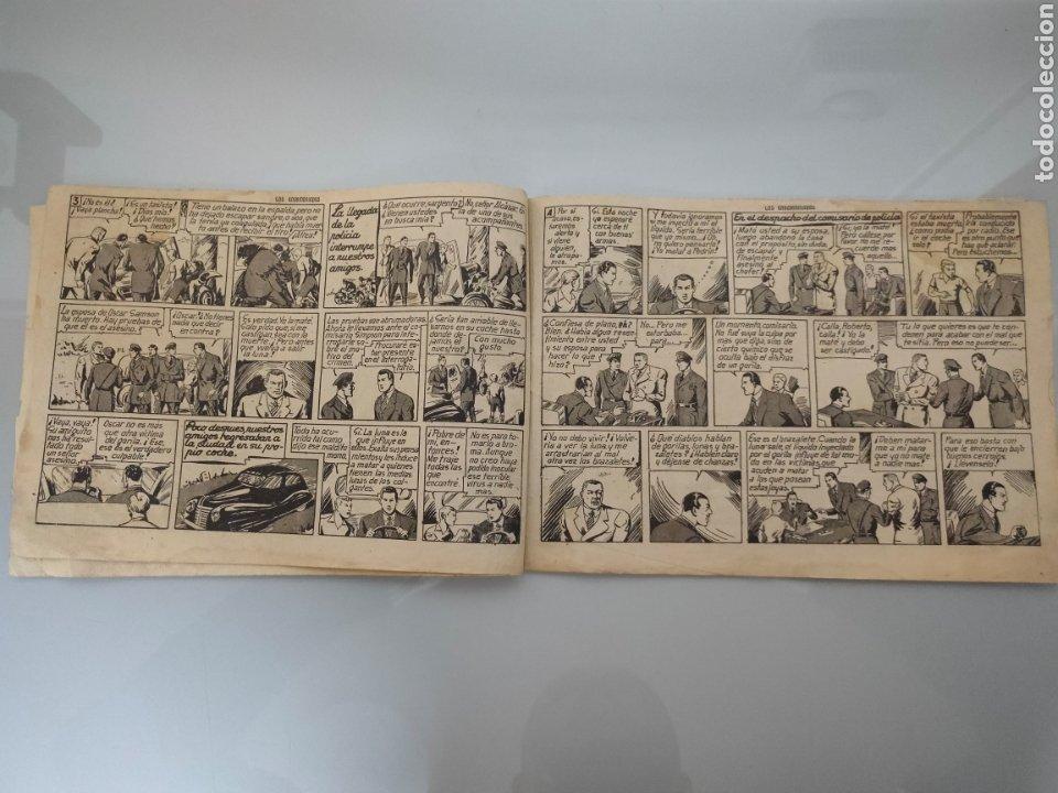 Tebeos: ROBERTO ALCÁZAR Y PEDRÍN N°123 LOS ENDEMONIADOS 1948ORIGINAL COMPLETO - Foto 3 - 222710040