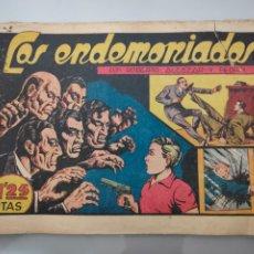Tebeos: ROBERTO ALCÁZAR Y PEDRÍN N°123 LOS ENDEMONIADOS 1948ORIGINAL COMPLETO. Lote 222710040