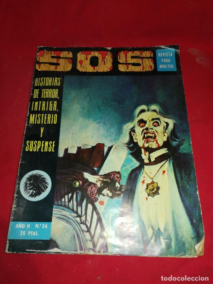SOS (1976), N°24 REVISTA PARA ADULTOS (Tebeos y Comics - Valenciana - S.O.S)