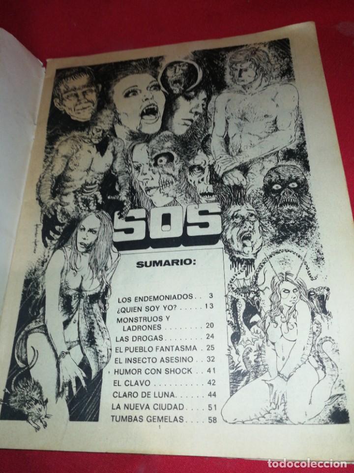 Tebeos: SOS (1976), N°24 REVISTA PARA ADULTOS - Foto 2 - 222718790