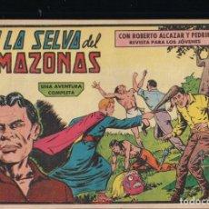 Tebeos: ROBERTO ALCAZAR Y PEDRIN Nº 446: EN LA SELVA DEL AMAZONAS. Lote 222913986