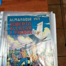 Tebeos: ROBERTO ALCAZAR ALMANAQUE 1971 - ORIGINAL - ESTADO MUY BUENO. Lote 223395545