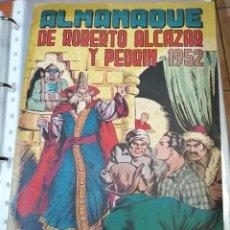 Tebeos: ROBERTO ALCAZAR ALMANAQUE 1952 - ORIGINAL - BUEN ESTADO. Lote 223499767