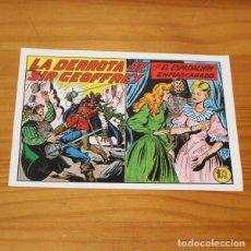Tebeos: EL ESPADACHIN ENMASCARADO 189 LA DERROTA DE SIR GEOFFREY. FACSIMIL. Lote 223776042