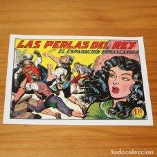 Tebeos: EL ESPADACHIN ENMASCARADO 192 LAS PERLAS DEL REY. FACSIMIL. Lote 223776102