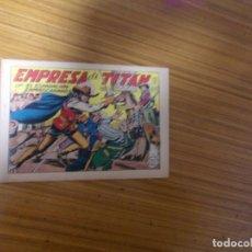 Tebeos: EL ESPADACHIN ENMASCARADO Nº 61 EDITA VALENCIANA. Lote 223885731