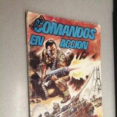 Livros de Banda Desenhada: NUEVO COMANDOS EN ACCIÓN Nº 3 / VALENCIANA 1982. Lote 224170485