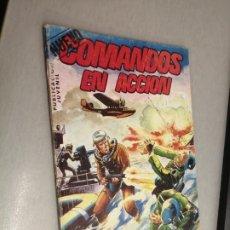 Livros de Banda Desenhada: NUEVO COMANDOS EN ACCIÓN Nº 6 / VALENCIANA 1982. Lote 224170712