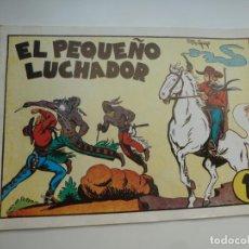 Tebeos: EL PEQUEÑO LUCHADOR Nº 1. M. GAGO. FACSÍMIL 1988. IMPECABLE. Lote 224273672