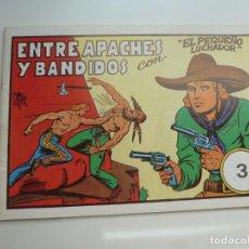 Tebeos: EL PEQUEÑO LUCHADOR Nº 3. M. GAGO. FACSÍMIL 1988. IMPECABLE. Lote 224273817