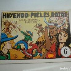 Tebeos: EL PEQUEÑO LUCHADOR Nº 6. M. GAGO. FACSÍMIL 1988. IMPECABLE. Lote 224273923
