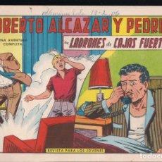 Tebeos: ROBERTO ALCAZAR Y PEDRIN Nº 723: LADRONES DE CAJAS FUERTES. Lote 224340411